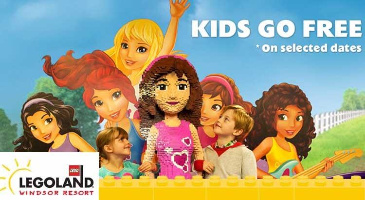 Legoland Holiday Offer - Kids go Free - UK family break
