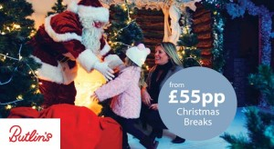 butlins christmas breaks