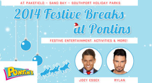 pontins 2014 christmas breaks