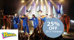 pontins 2015 holiday offers
