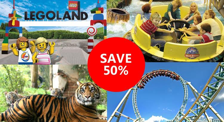 Deals theme parks uk