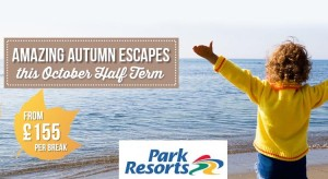 park resorts october half term deals