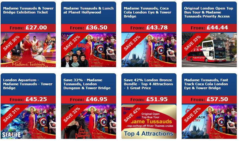 The headline acts that are infamous for queues include the London Eye, Madame Tussauds, Tower of London, London Dungeon and Windsor Castle. At all of these attractions you can buy fast track admission tickets in advance which means you either just walk straight past the lines for the ticket desks on the day saving you lots of time and boredom.