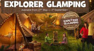 explorer glamping at chessington resort