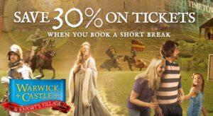 warwick castle cheap tickets