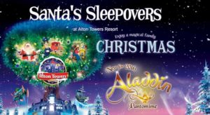 santa sleepovers at alton towers